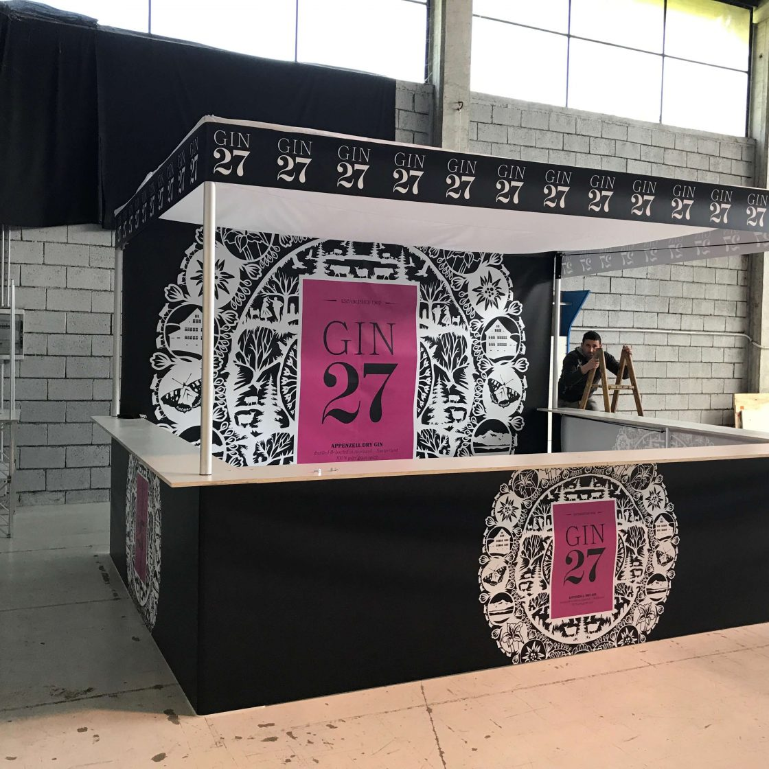 Stand GIN 27